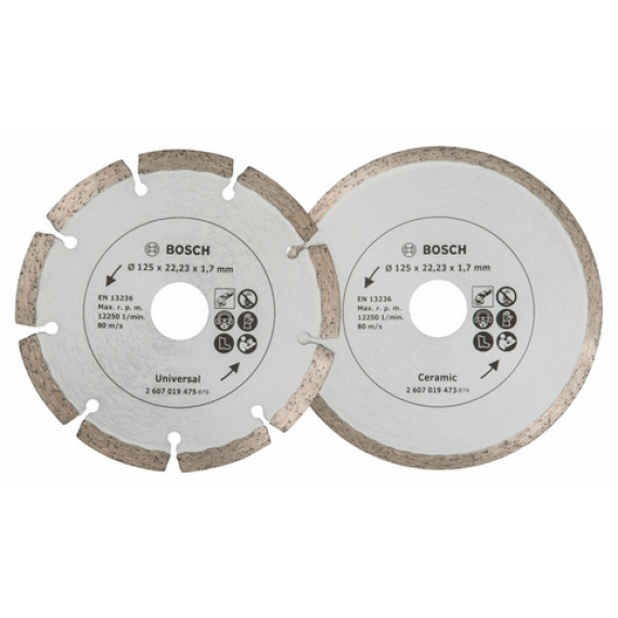 Bosch pour Fliesen und Baumat. 125mm