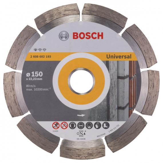 Disque à tronçonner  Bosch 150 mm