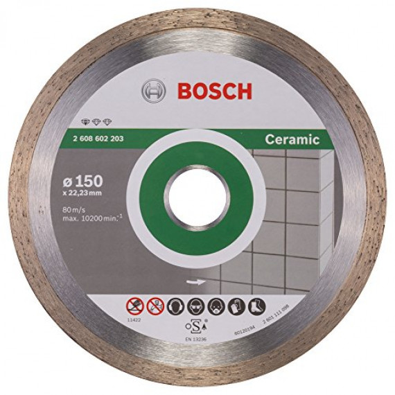 Bosch Standard for Ceramic 150mm