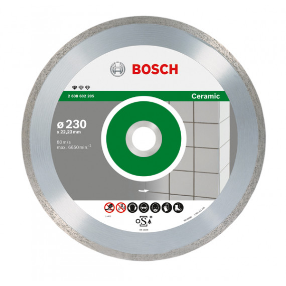 Bosch Standard for Ceramic 230mm