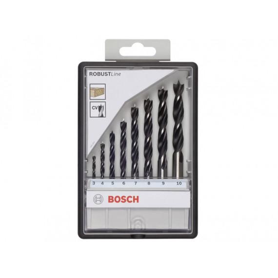 foret Bosch Set Robust Line 8 pièce