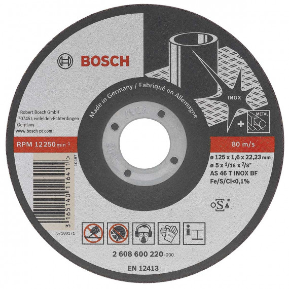 Disque à tronçonner  Bosch Expert for Inox Long Life 115 mm