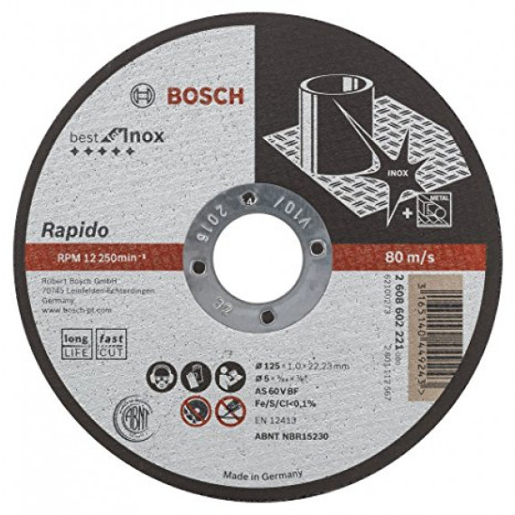 Bosch Expert for Inox Long Life 125 mm