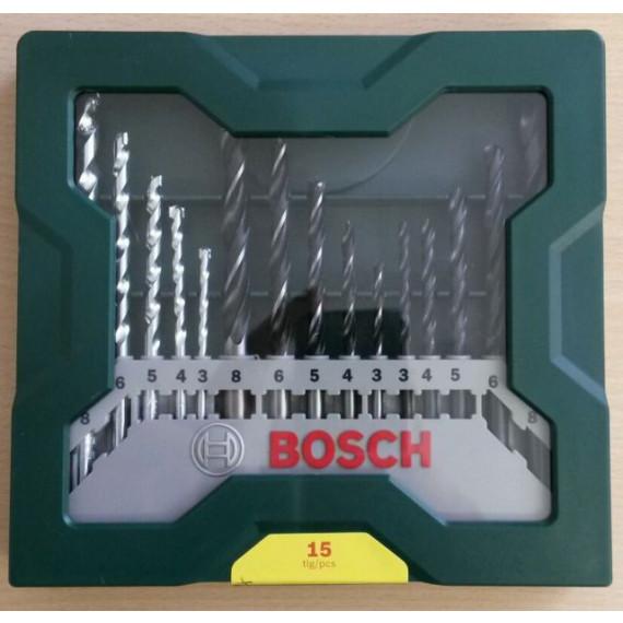 foret Bosch X-Line Mixed Set 15 pièces