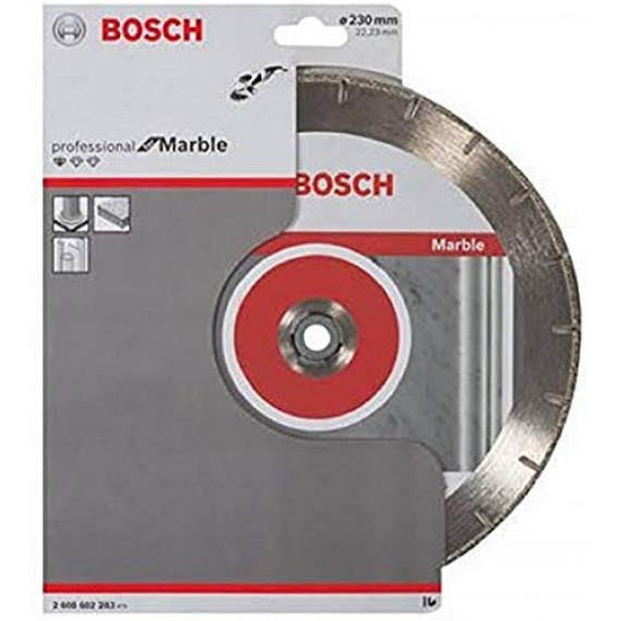 """Bosch Professional Bosch 2608602283 Disque à tronçonner diamant """"2,8 Marmor MPE"""" 230 x 22,23 mm"""