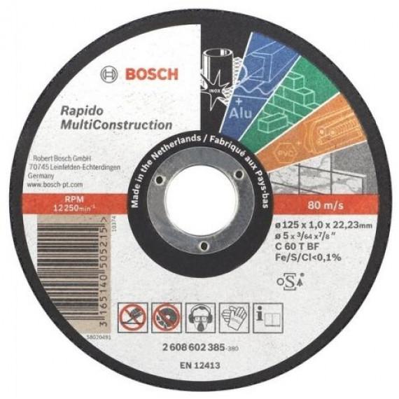 Bosch Rapido 125 x 1 mm