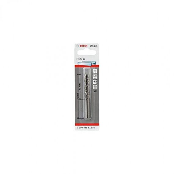 Bosch Professional 2608585916 Foret, Silver, 4 x 43 x 75 mm