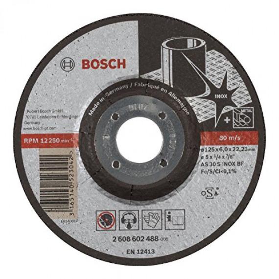 Bosch Professional 2608602488 Meule, Grey, 125