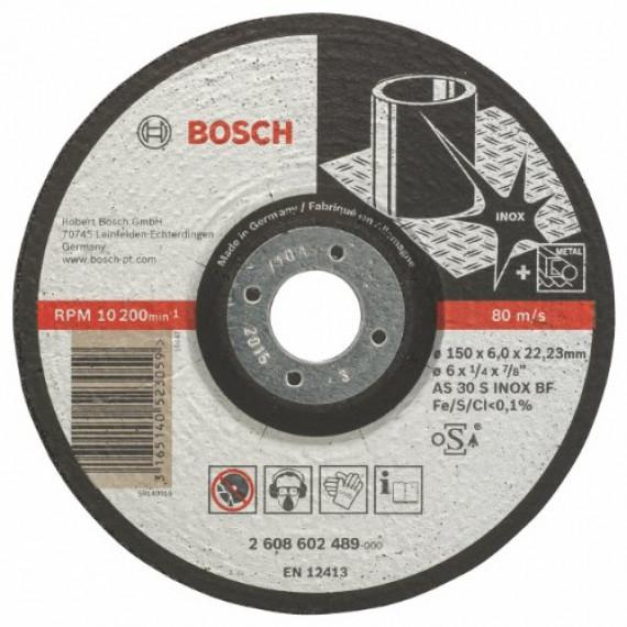 Bosch Professional 2608602489 Meule, Grey, 150