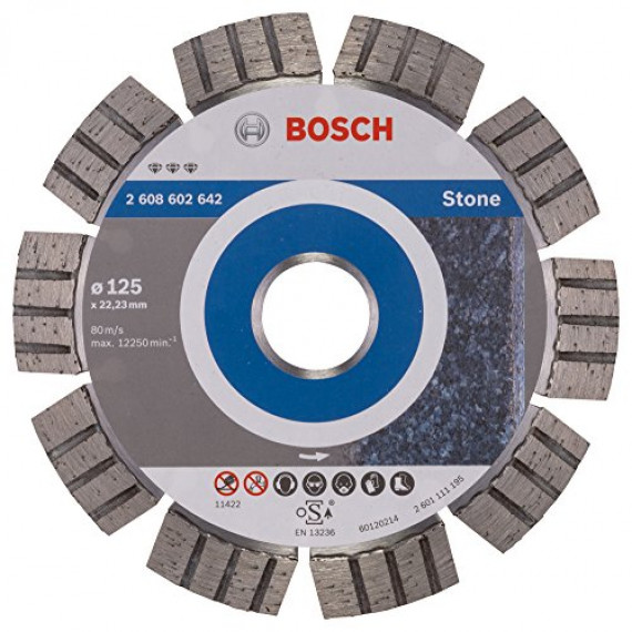 Bosch Best for Stone 125mm