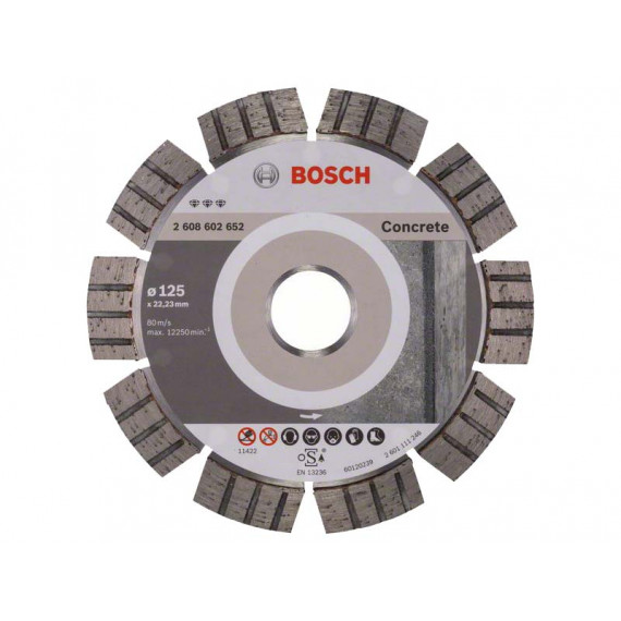Bosch Best for Concrete 125 mm