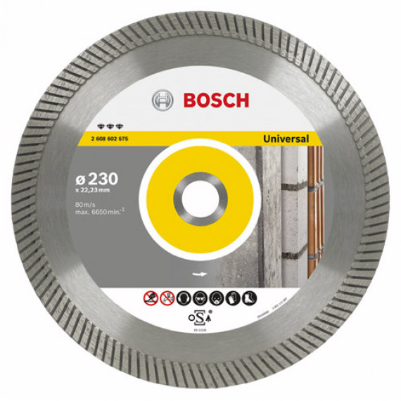 Bosch Best for Universal Turbo 150mm
