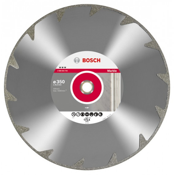 Bosch Best for Marble 125 mm