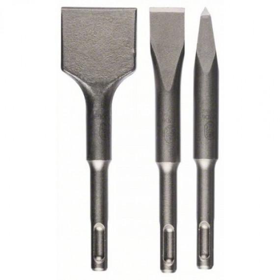 Burin Bosch pièces. Meißel-Set SDS-plus