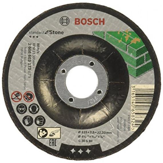 Bosch Professional Bosch 2608603173 Disque à tronçonner à moyeu déporté standard for stone C 30 S BF 115 mm 22,23 mm 2,5 mm