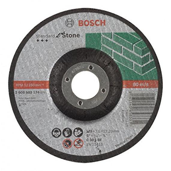Bosch Professional Bosch 2608603174 Disque à tronçonner à moyeu déporté standard for stone C 30 S BF 125 mm 22,23 mm 2,5 mm