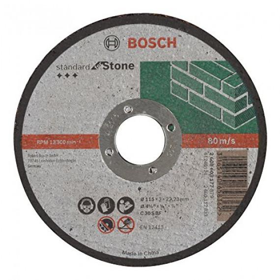 Bosch Professional Bosch 2608603177 Disque à tronçonner à moyeu plat standard for stone C 30 S BF 115 mm 22,23 mm 3,0 mm