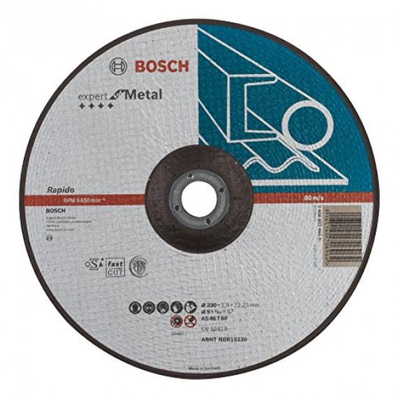 Bosch Professional Bosch 2608603404 Disque à tronçonner à moyeu déporté expert for metal rapido AS 46 T BF 230 mm 1,9 mm