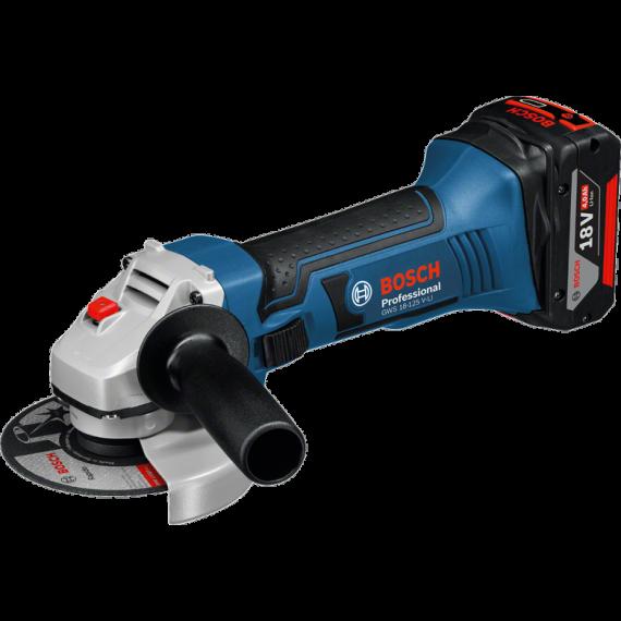 Bosch GWS 18-125 V Li Professional