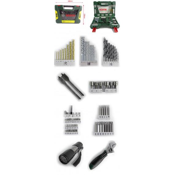 Bosch 83 pièceses V-Line TiN-Foret- und Bit-Set
