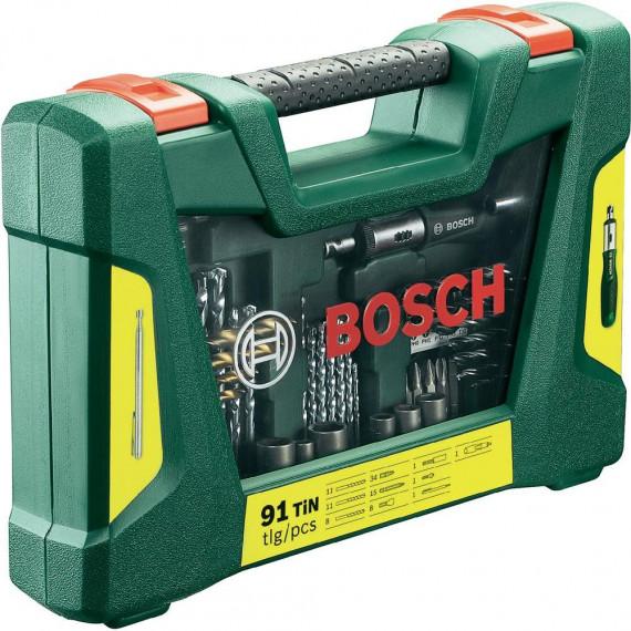 Bosch 91 piècees V-Line TiN-Foret- und Bit-Set
