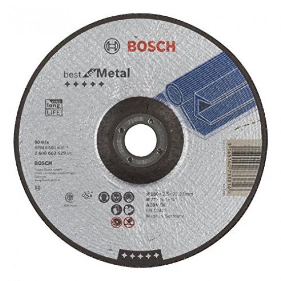 Bosch Professional Bosch 2608603529 Disque à tronçonner à moyeu déporté best for metal A 30 V BF c