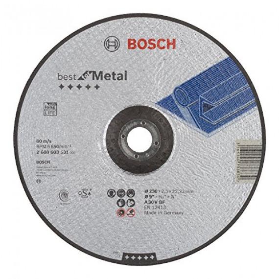 Bosch Professional Bosch 2608603531 Disque à tronçonner à moyeu déporté best for metal A 30 V BF 230 mm 2,5 mm