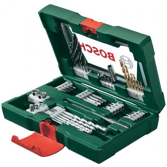 Embout de vissage Bosch 48 piècees V-Line TiN-Foret- und Bit-Set