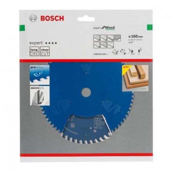Bosch Expert for Wood 160x20