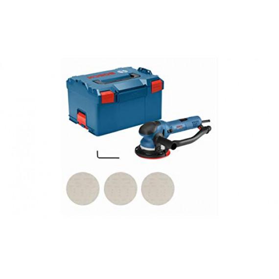Bosch Professional Ponceuse Excentrique  Get 75-150 (750W, Ø du plateau de ponçage 150 mm, Coffret L-BOXX)