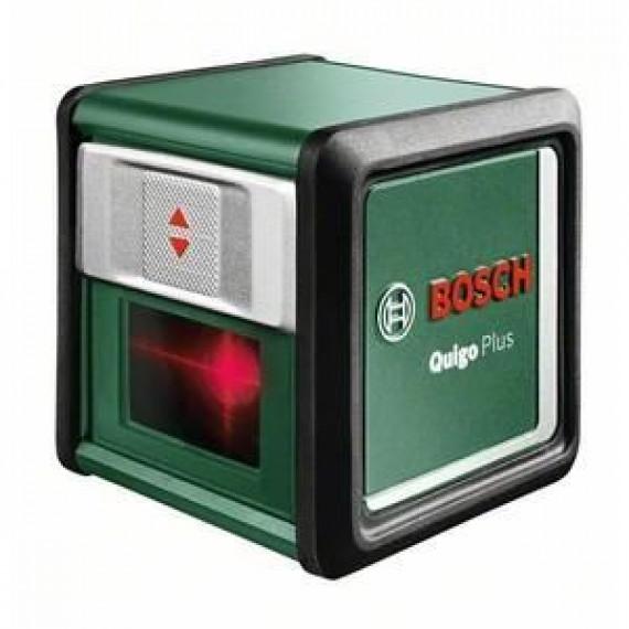 Bosch Bosch Laser ligne en croix Quigo + portée 7 m avec trépied 1,1m 0603663600