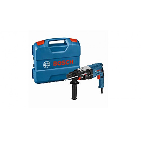 Bosch Professional Perforateur SDS-Plus GBH 2-28 (880 W, Force de frappe : 3,2 J, Ø perçage dans béton, forets pour perforateur : 4-28 mm, Coffret L-CASE)