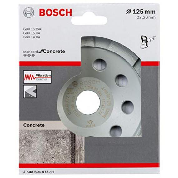 Bosch Professional 2608601573 Meules Diamant Standard for Concrete (pour Béton, 125 x 22,23 x 5 mm, Accessoires Meuleuse Angulaire)