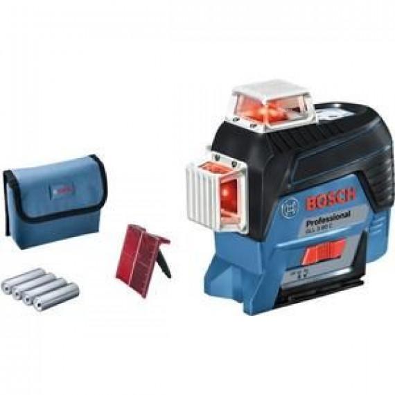 Bosch PROFESSIONAL Niveau laser lignes GLL 3-80 C (version piles)