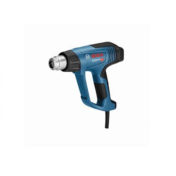 Bosch Professional 06012A6200 06012A6200Professional Décapeur Thermique GHG 20–63(2000W, Plage de températures 50–630°, Film, en Carton), Bleu