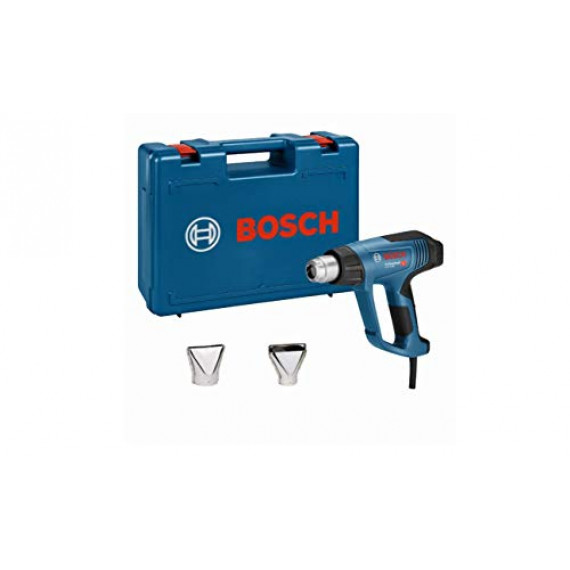 Bosch Professional Décapeur thermique GHG 23–66(2300W, plage de températures 50–650°, 2buses) Bleu