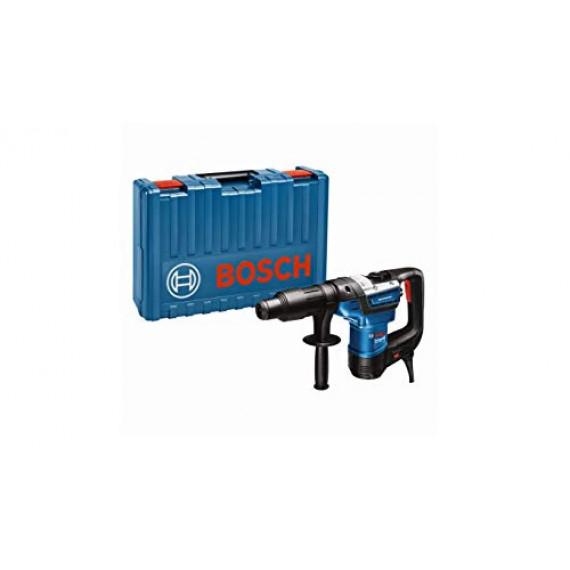 Bosch Professional 611269001 Bosch Perforateur GBH 5-40 D (SDS Plus, avec Poignée Supplémentaire, Tube de Graisse, Chiffon, dans un Coffret)