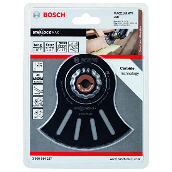 Bosch Professional 2608664227 Bosch 2608664227-Accesorio Para multiherramienta MACZ 145 MT4: abrasivos