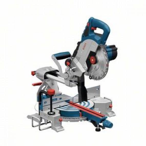 Bosch Professional BITURBO Scie à Onglets Radiale sans-fil GCM 18V-216 (Diamètre de Lame: 216 mm, sans Batterie/Chargeur, Boite Carton)