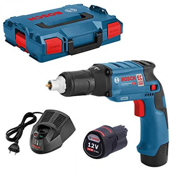 Bosch Professional 06019E4004 Bosch Visseuse placo 12V 3,0 Ah-GTB12V-11-06019E4004, Bleu