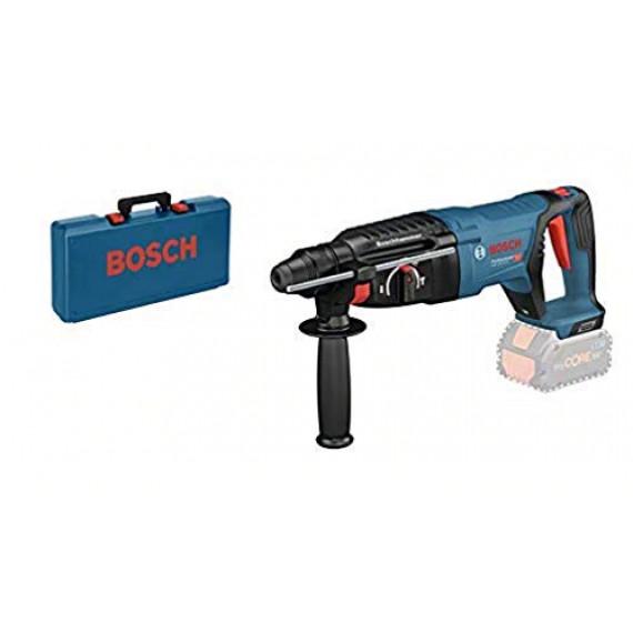 Bosch Professional 0611916000 Bosch Perforateur sans-fil SDS Plus GBH 18V-26 D, dans un Coffret de transport-0611916000, Bleu