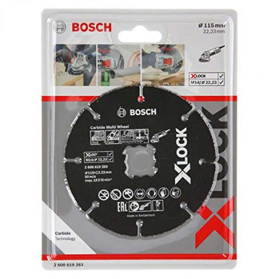 Bosch Disque à tronçonner multimatériaux  X-Lock 115 mm
