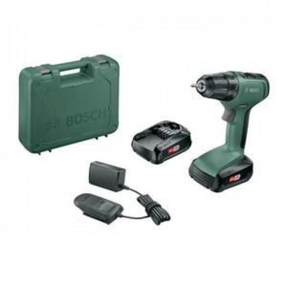 Bosch Perceuse-visseuse sans fil  – UniversalDrill 18 – 2 batteries 18V-1,5Ah