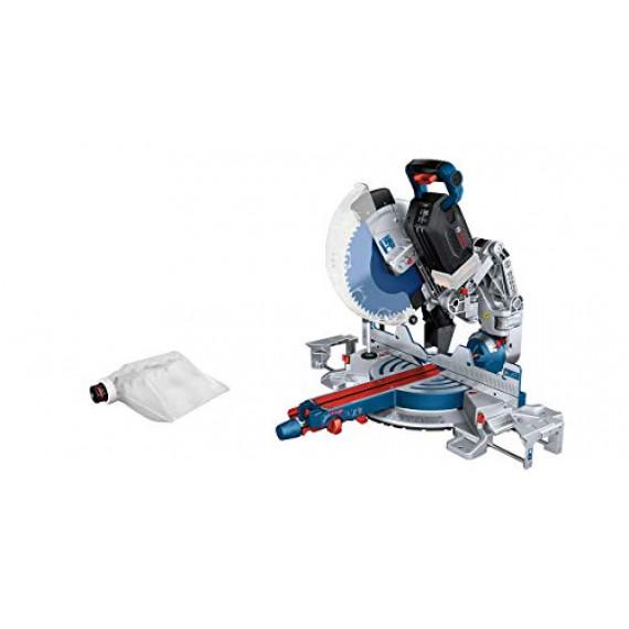 Bosch Professional BITURBO GCM 18V-305 GDC Scie à onglets coulissante