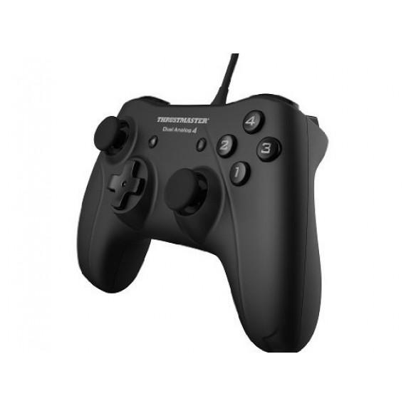 Gamepad Thrustmaster Gamep. Dual Analog 4 U noir USB câble 12 touches aucun
