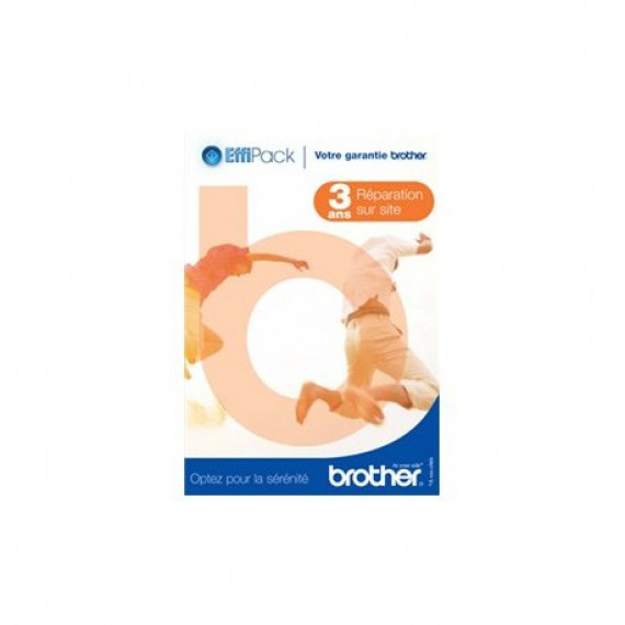 Brother EffiPack - Extension de garantie 3 ans réparation technicien sur site (pour série HL-52/DCP-70/MFC-70/Fax Laser 282X/2925) (FRANCE)