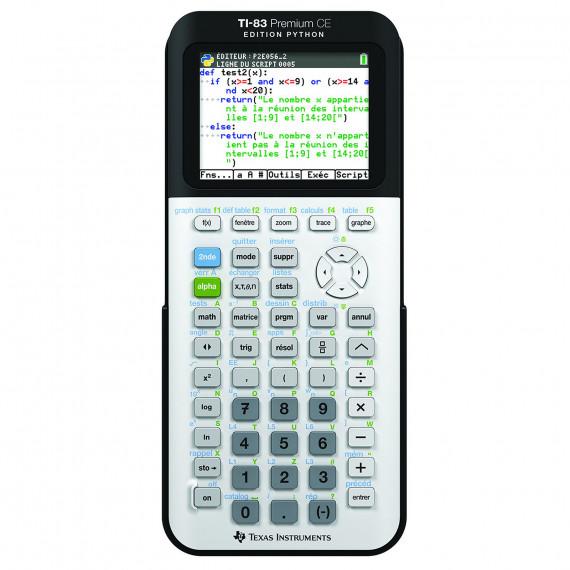 Texas Instruments TI-83 Premium CE Edition Python