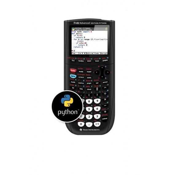 Texas Instruments TI-82 Ad Edition PYTHON
