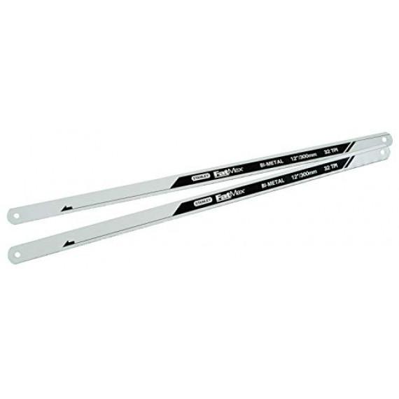 1Control Lame de scie à métaux bi-métal 300 mm Stanley Fatmax, 32 dents