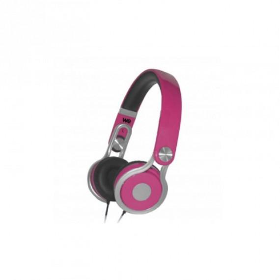 WE Écouteurs bi-colores  à câble plat avec micro